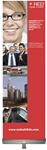 Retractable banner stand 24x80